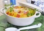 野菜のリゾット 塩レモン風味