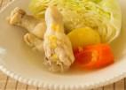 鶏手羽の塩レモンポトフ