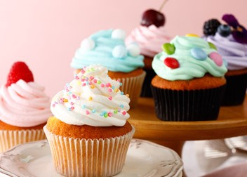 カラフルカップケーキ ソルトクリーム