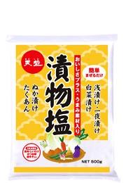 天塩の漬物塩(500gポリ袋)