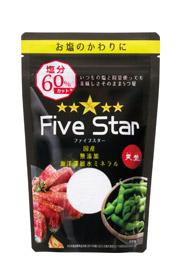 ミネラル調味料 Five Star(ファイブスター)