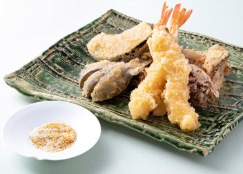 天ぷら カレー塩