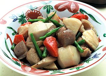 鶏と野菜の炒め煮(筑前煮)