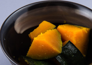 かぼちゃの塩ゆず煮