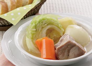 「塩ゆず」DE 野菜のポトフ